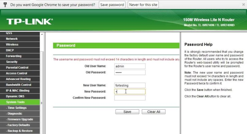 How to change the password of the Tp-link routers