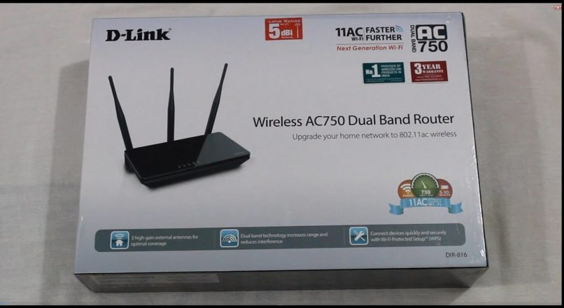 How to install and setup D-Link DIR-816 Wireless AC750 Dual Band Router?