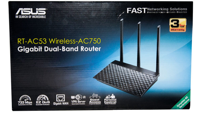 How to update firmware of Asus dual band RT-AC53 AC750 Wi-Fi router?