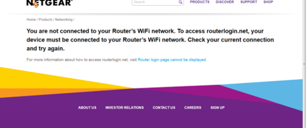 Why www.routerlogin.net or routerlogin.com is not working?